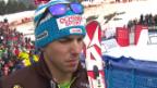 Video «Ski: Riesenslalom Lenzerheide, Interview Janka («sportlive», 15.03.2014)» abspielen