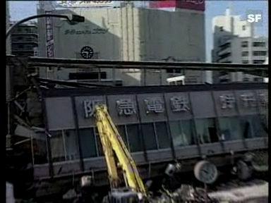 Erdbebenkatastrophe in Kobe