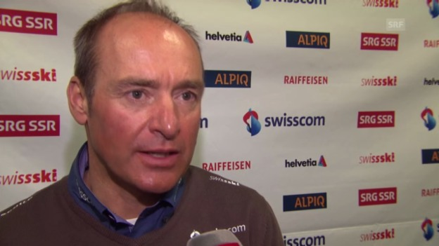 Video «Ski alpin: Rudi Huber im Interview» abspielen