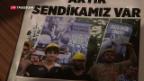 Video «Türken leiden unter Wirtschaftskrise» abspielen