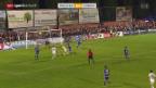 Video «Fussball: Cup, Wohlen - Zürich» abspielen