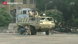 Video «Zahl der Toten in Ägypten steigt weiter» abspielen