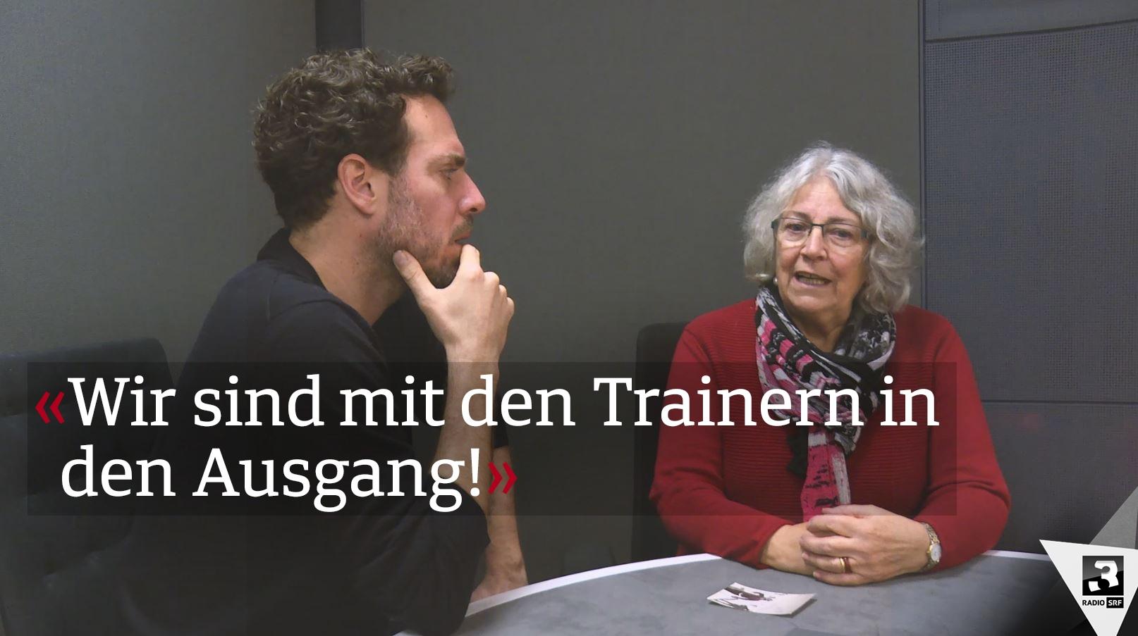 Tom Gislers Mami erzählt Lauberhorn-Geschichten von früher