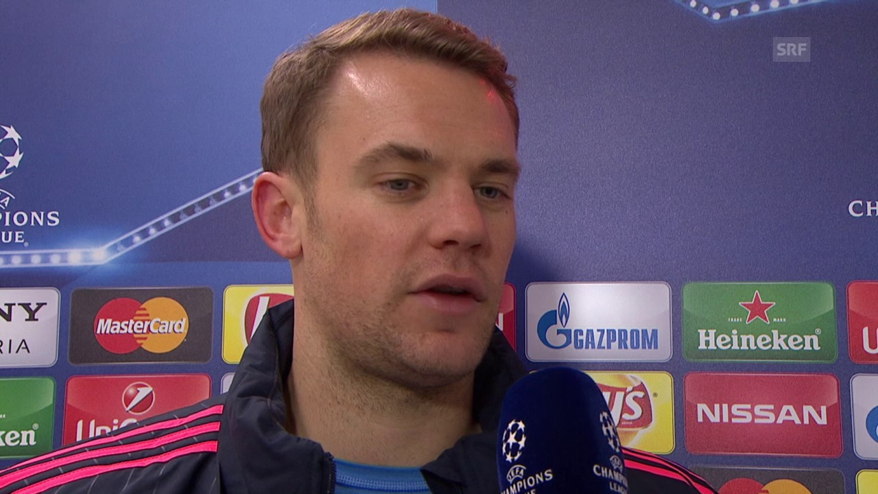 Bayern-Goalie Neuer im Interview