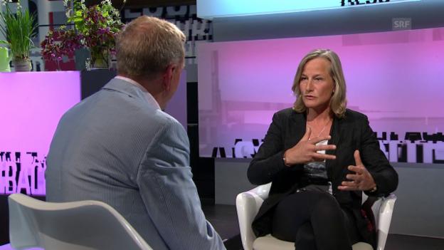 Video «Zu Gast bei «Aeschbacher»: Christine Bartsch» abspielen