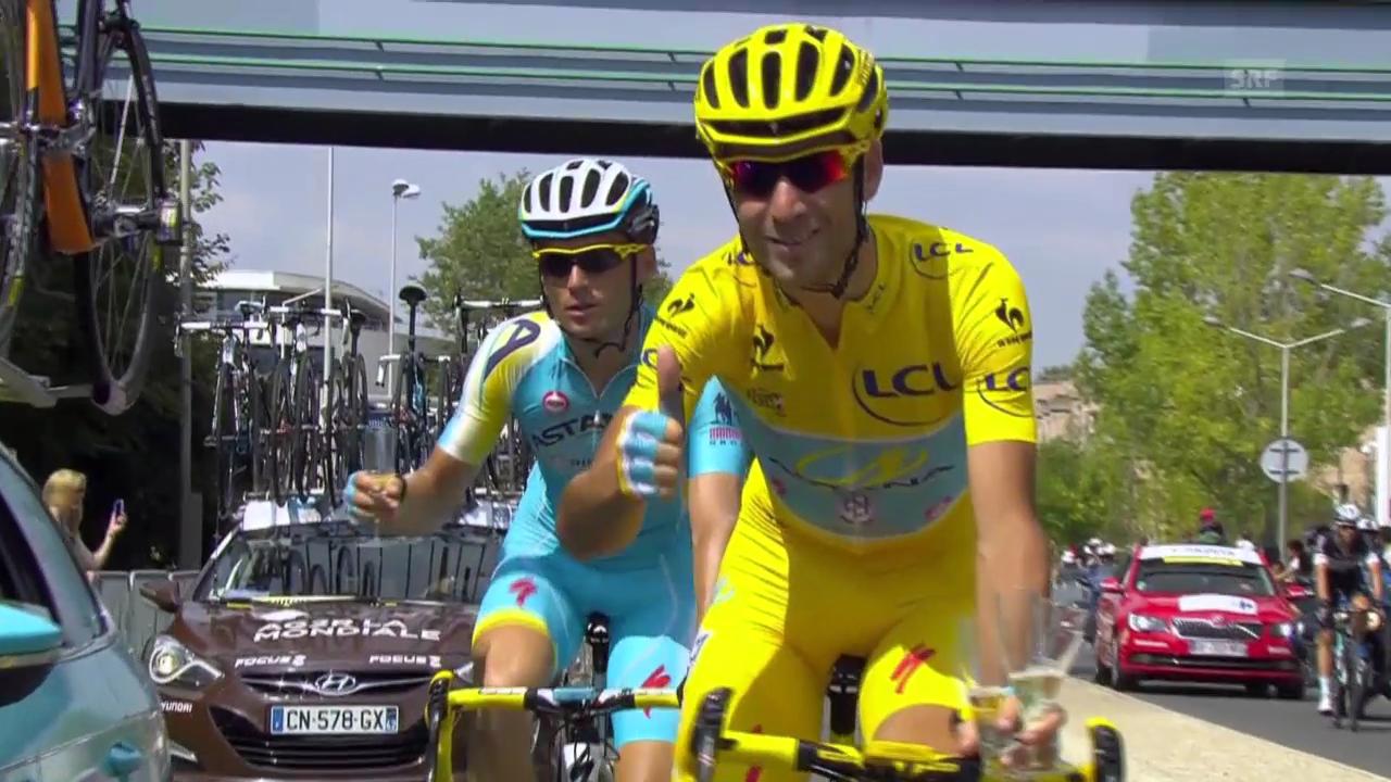 Rad: Die letzte Etappe der Tour de France