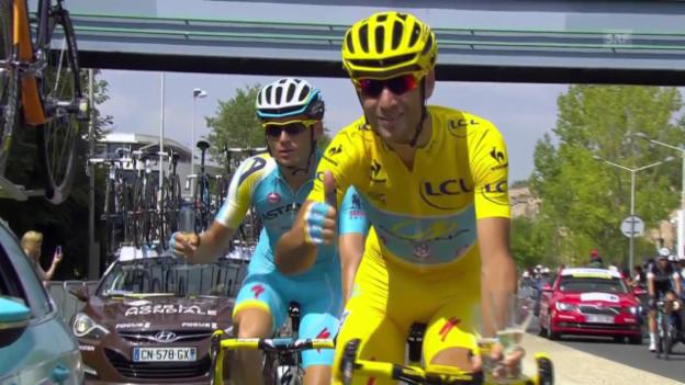 Video «Rad: Die letzte Etappe der Tour de France» abspielen