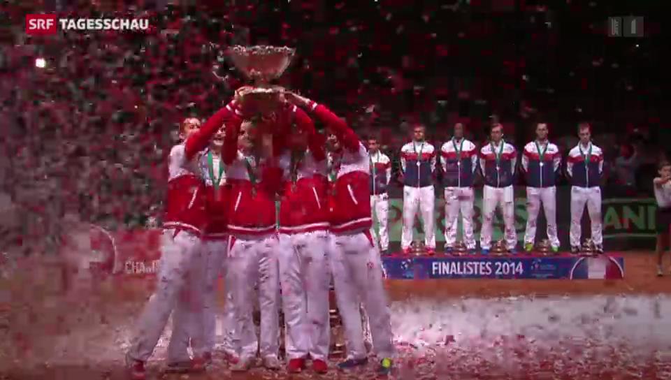 Die Schweiz gewinnt den Davis Cup