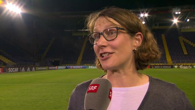 Video «Lehmanns Lowlight: Das Gegentor gegen Frankreich» abspielen