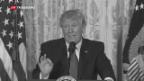 Video «US-Präsident kämpft gegen eigene Geheimdienste» abspielen