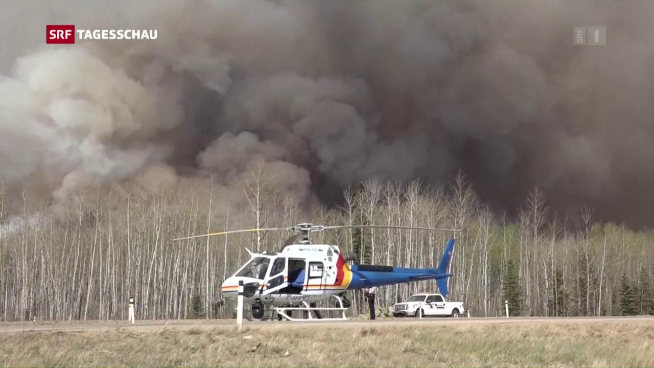 Brände in Kanada wüten weiter