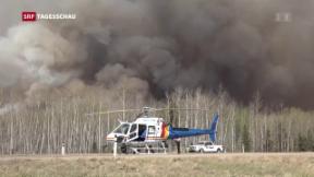 Video «Brände in Kanada wüten weiter» abspielen