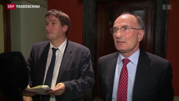 Video «Grünes Licht für Verhandlungen mit EU» abspielen