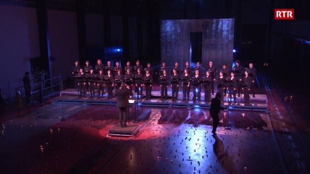 Laschar ir video «Entir concert «Chant da la Romantica» dal «Ensemble Vocal Origen», direcziun: Clau Scherrer»
