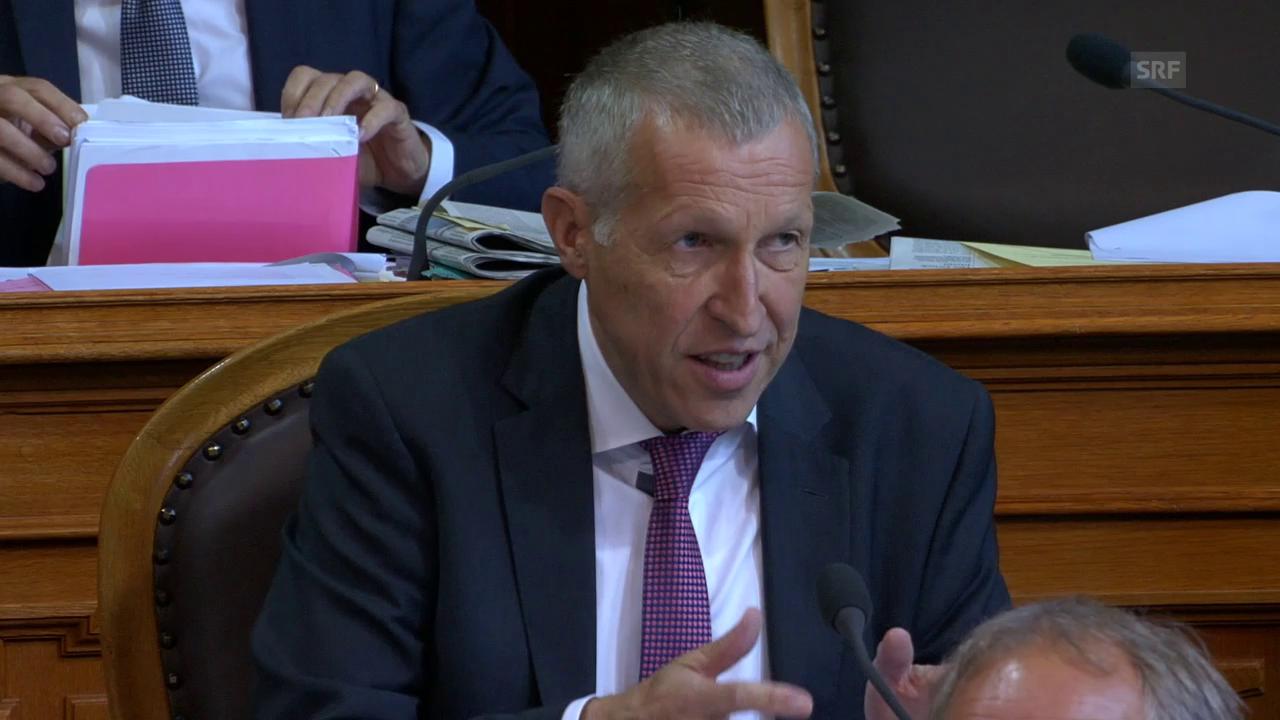 Graber: «Spannungsfeld zwischen Versicherten und Allgemeinheit»