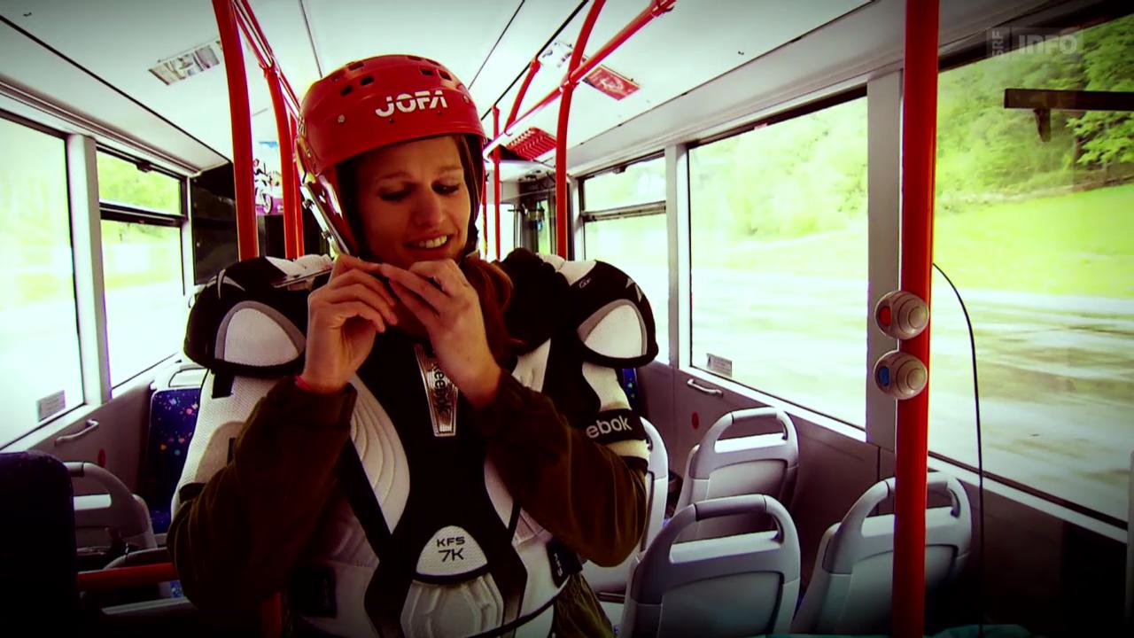Vollbremsung gefährdet Bus-Passagiere