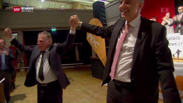 Video «Darbellay als Staatsrats-Kandidat nominiert» abspielen