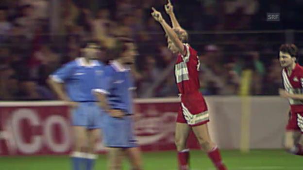 Video «Fussball: Die höchsten Siege der Schweizer Nationalmannschaft» abspielen