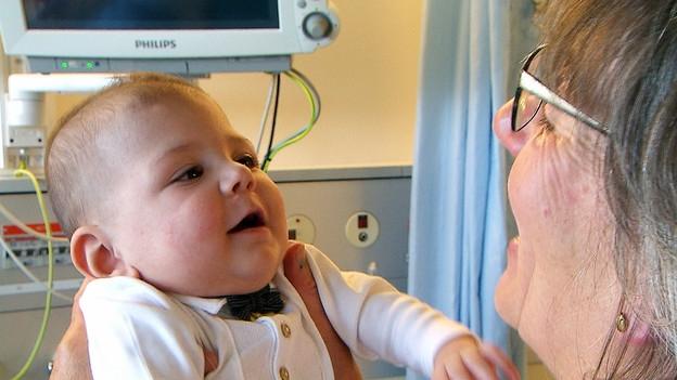 Kinder im Spital – Freiwillige entlasten Eltern