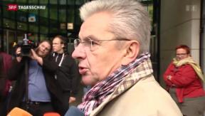 Video «Die deutsche SPD vor der Zerreissprobe» abspielen