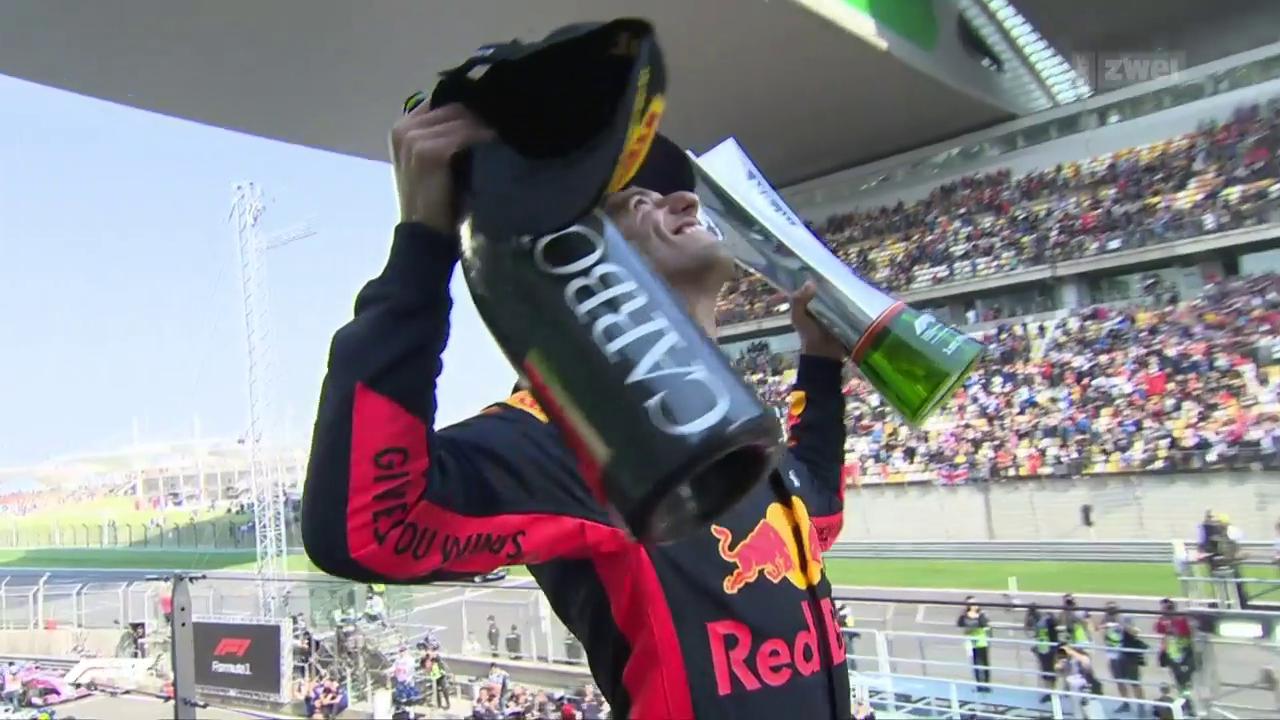 Ricciardo überrascht beim GP China