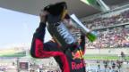 Video «Ricciardo überrascht beim GP China» abspielen