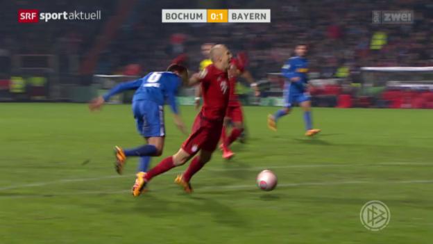 Video «Fussball: DFB-Pokal, Viertelfinals» abspielen