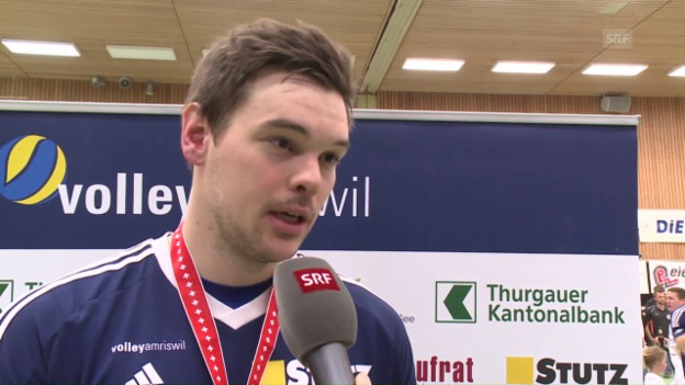 Video «Interview mit Amriswils Thomas Brändli» abspielen