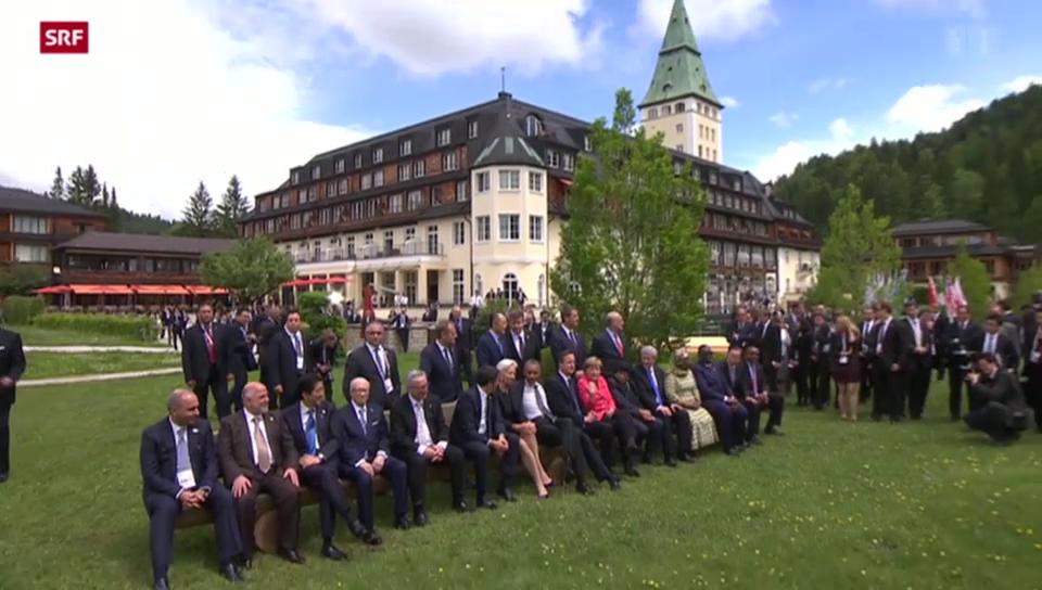 G7: Klima-Ziele und Russland-Sanktionen