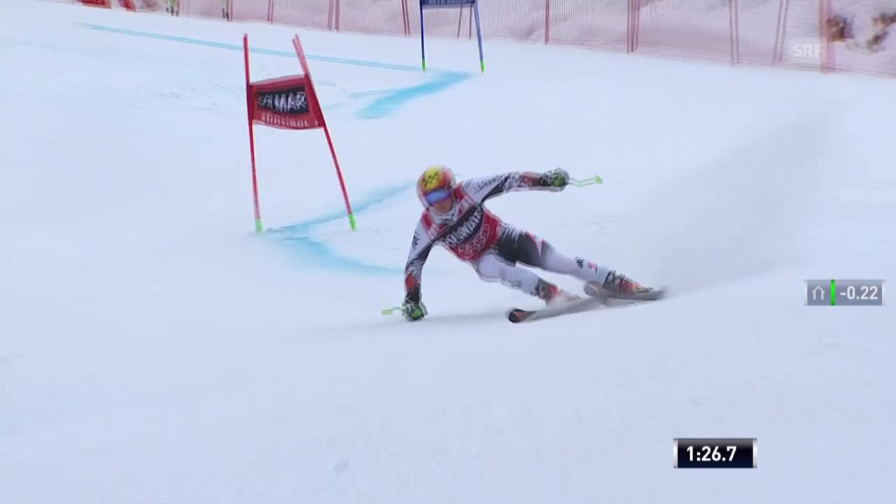 Ski Alpin: Abfahrt Männer in Alta Badia, 2. Lauf von Hirscher («sportlive», 22.12.2013)