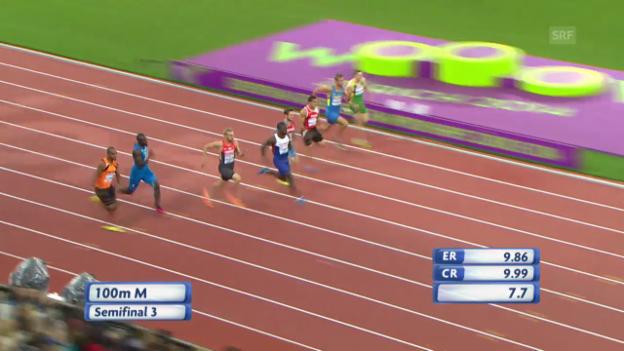 Video «Leichtathletik-EM: Halbfinal mit Mancini» abspielen