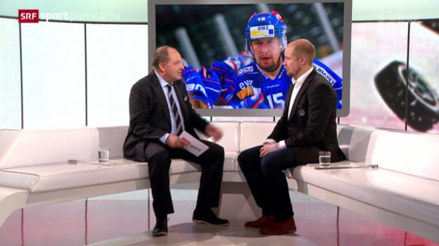 Video «Eishockey: NLA, ZSC Lions, Mathias Seger» abspielen