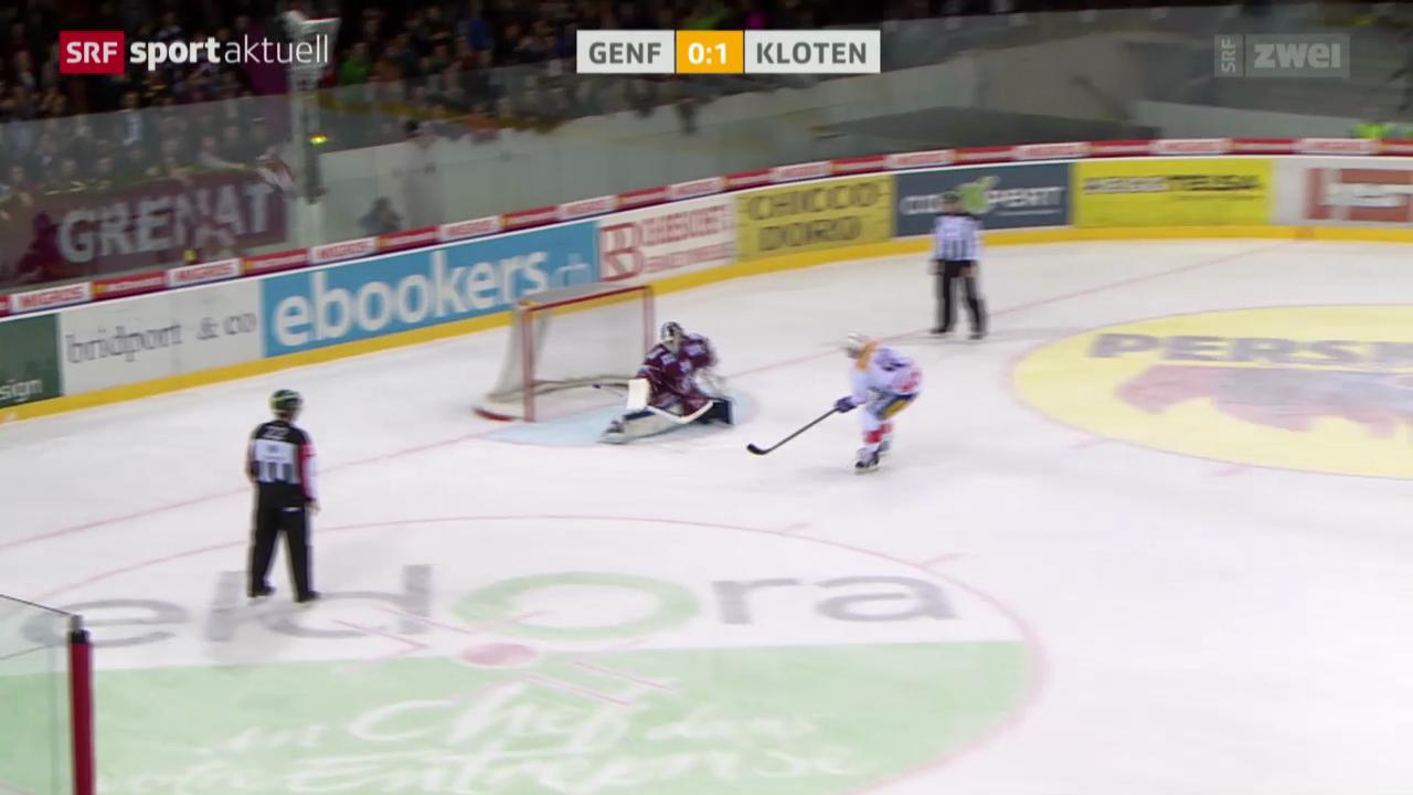 Eishockey: NLA, Genf - Kloten
