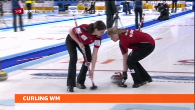 Video «Curling: Schweizerinnen mit Playoff-Chancen» abspielen