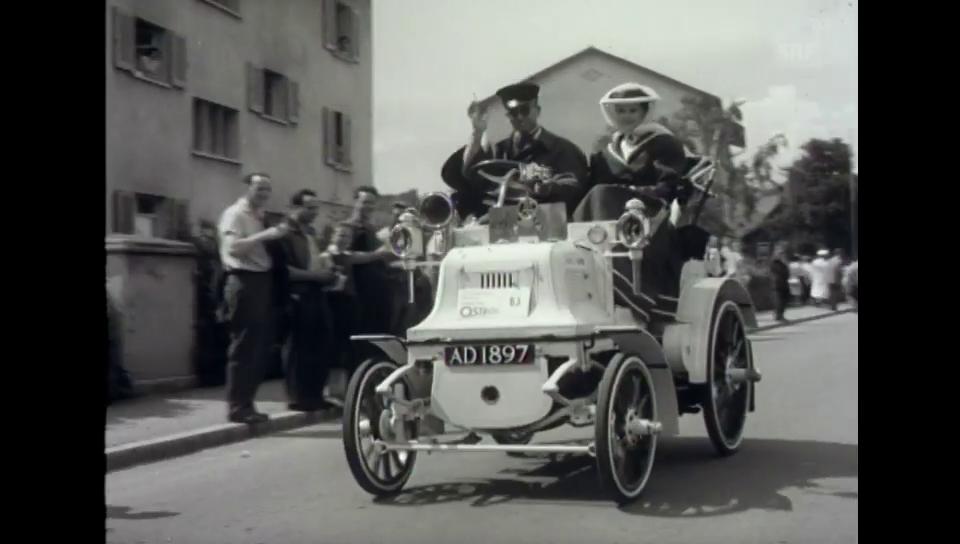 1959: Oldtimer-Schau Rapperswil