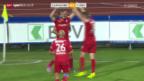 Video «Fussball: Lausanne - Thun» abspielen