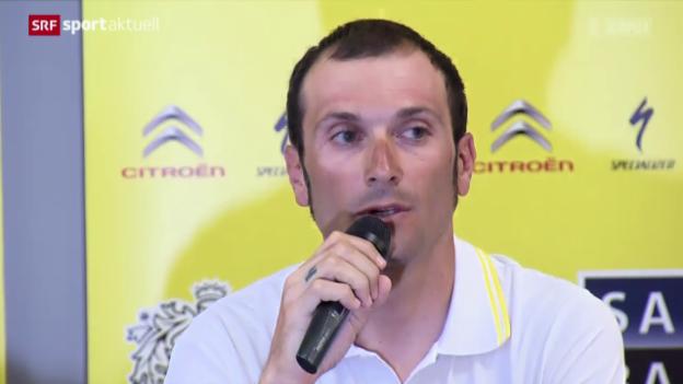 Video «Rad: Krebsdiagnose bei Ivan Basso» abspielen