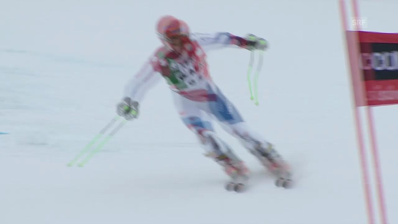 Ski Alpin: Abfahrt Männer in Alta Badia, 1. Lauf von Tumler («sportlive», 22.12.2013)