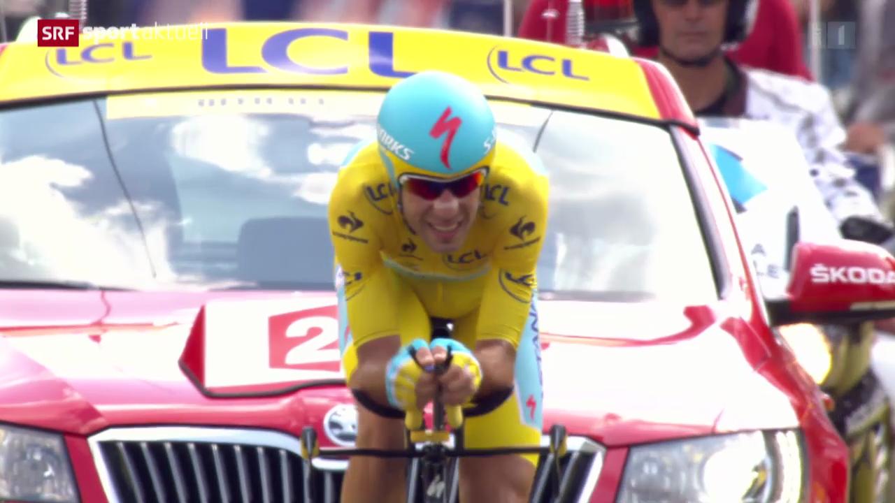 Rad: Tour de France, 20. Etappe