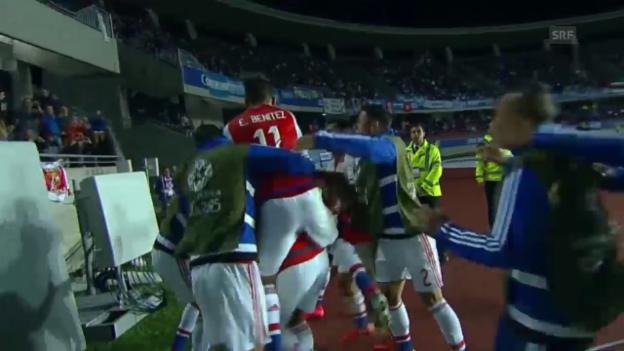 Video «Fussball: Copa America, Argentinien - Paraguay» abspielen