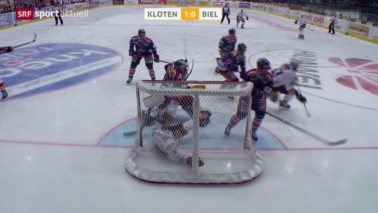 Eishockey: Kloten - Biel