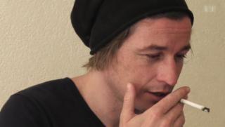 Video «Arno Camenisch – Schreiben auf der Kante» abspielen