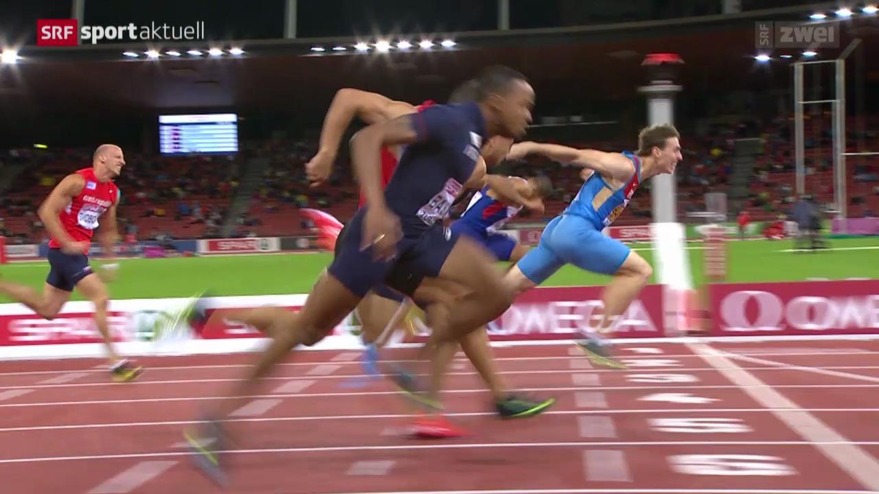 Leichtathletik: Der 110-m-Hürden-Final der Männer