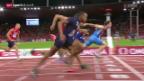 Video «Leichtathletik: Der 110-m-Hürden-Final der Männer» abspielen