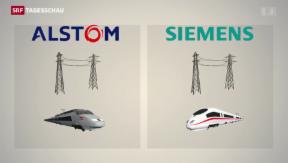 Video «Auch Siemens zeigt Interesse an Alstom» abspielen