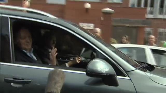 König Juan Carlos verlässt die Klinik