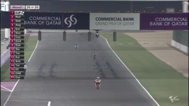 Video «Moto2 in Katar («sportlive»)» abspielen
