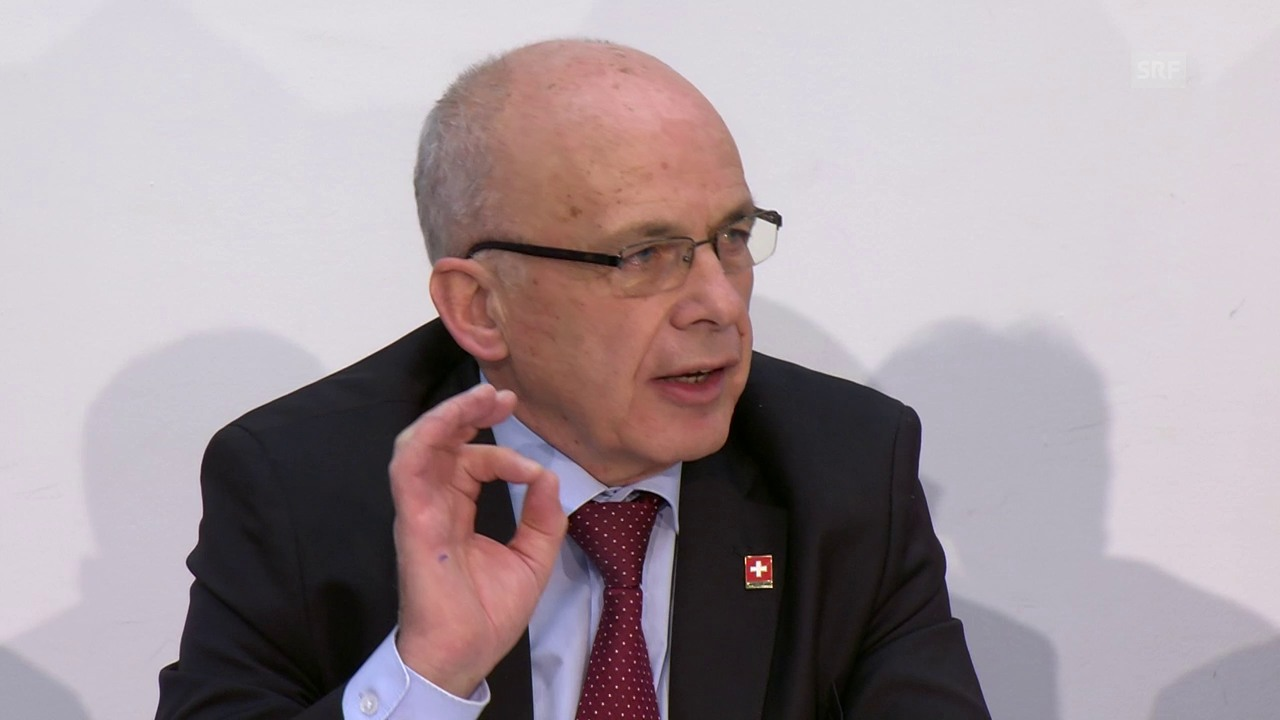 Bundesrat Ueli Maurer über die Rückstellung des Überschusses