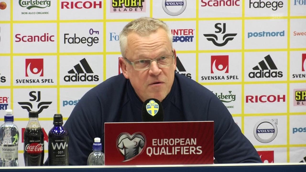 Andersson: «Was in Italien gesagt wird, ist mir egal» (engl.)