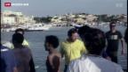 Video «Verheerendes Flüchtlingsdrama vor Italien» abspielen